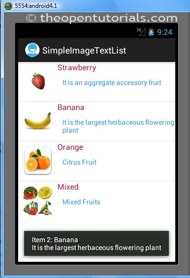 Android: Custom ListView with Image and Text using BaseAdapter » the