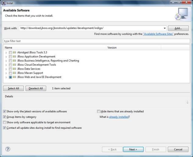 Installing JBoss Tools in Eclipse – iByteCode Technologies