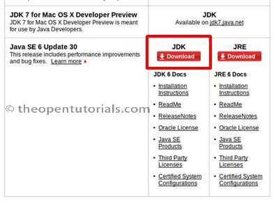 download java jdk 7 for ubuntu