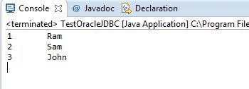 JDBC Oracle Connection Tutorial » the Open Tutorials
