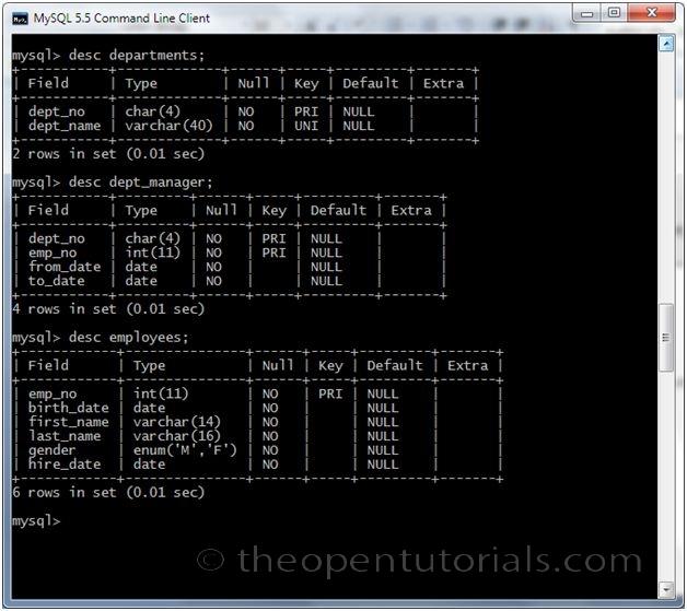 Joins in MySQL » the Open Tutorials